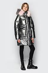 Зимнее палто пуховик на девочку подростка Джоанна размеры 128- 158 Новинка!