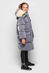 Подростковое зимнее пальто для девочек Джоанна тм cvetkov Размеры 128 - 158