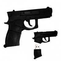 Флешка 16 Gb силиконовая Пистолет