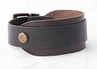 Антический кожаный браслет