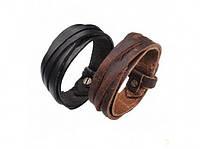 Антический кожаный браслет Ким