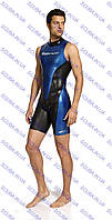 Гидрокостюм мужской для плавания Cressi-sub GLAROS SHORTY MAN 1,5 мм