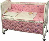 Набор постельного белья в детскую кроватку