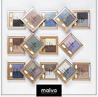 Двойные тени для век Malva M332