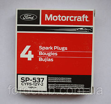Свечи FordExplorer USA 2.3; Motorcraft SP-537