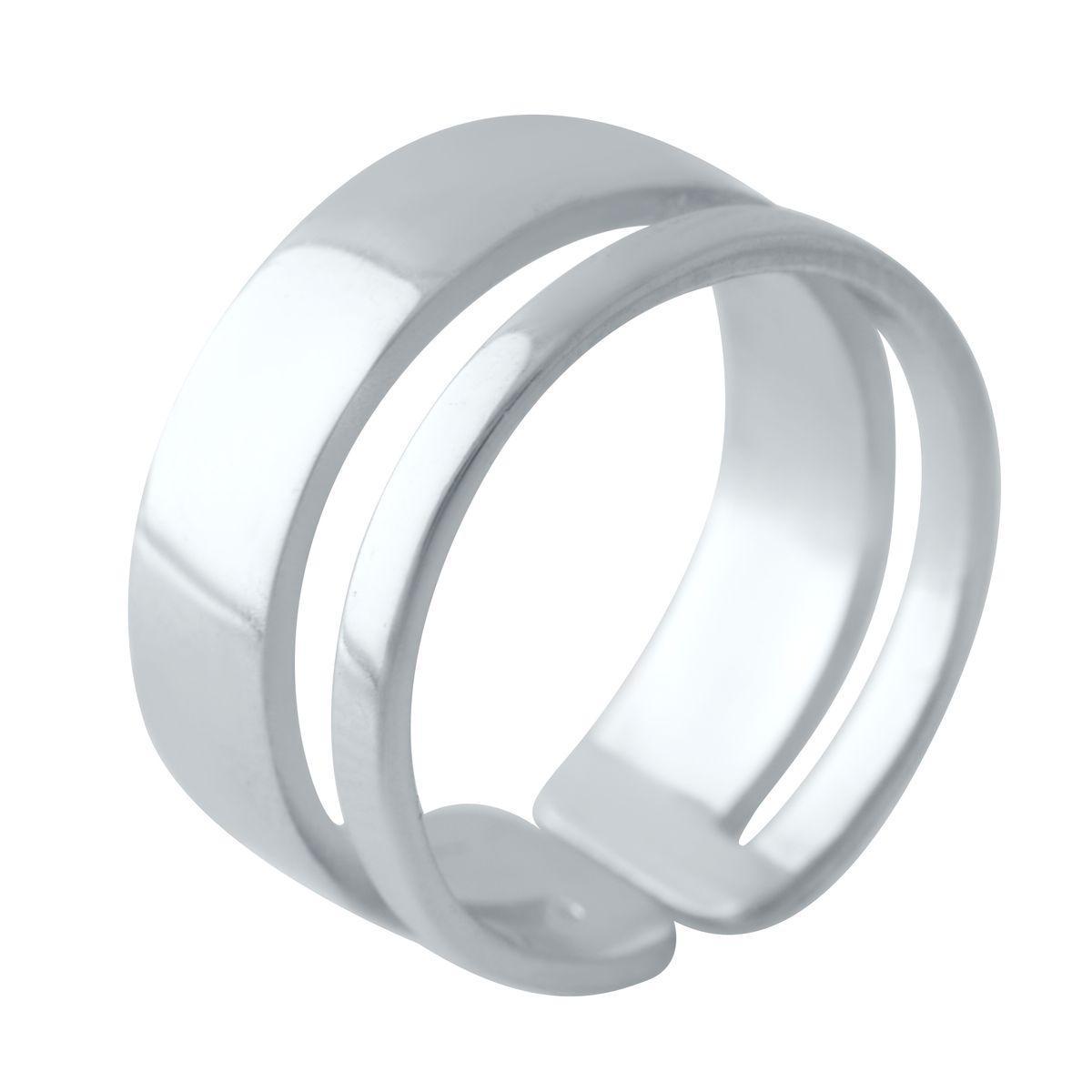 Срібне кільце DreamJewelry без каменів (2030119) 17 розмір