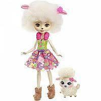 Лялька Энчантималс Баранчика Лорна і Прапор (Enchantimals Lorna Lamb Doll Flag with
