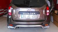Renault Duster (09+) защитная дуга защита заднего бампера на для Рено Дастер Renault Duster (09+)