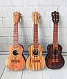 Гитара детская (КОРИЧНЕВАЯ) арт. 898-13B-C-TA, фото 4
