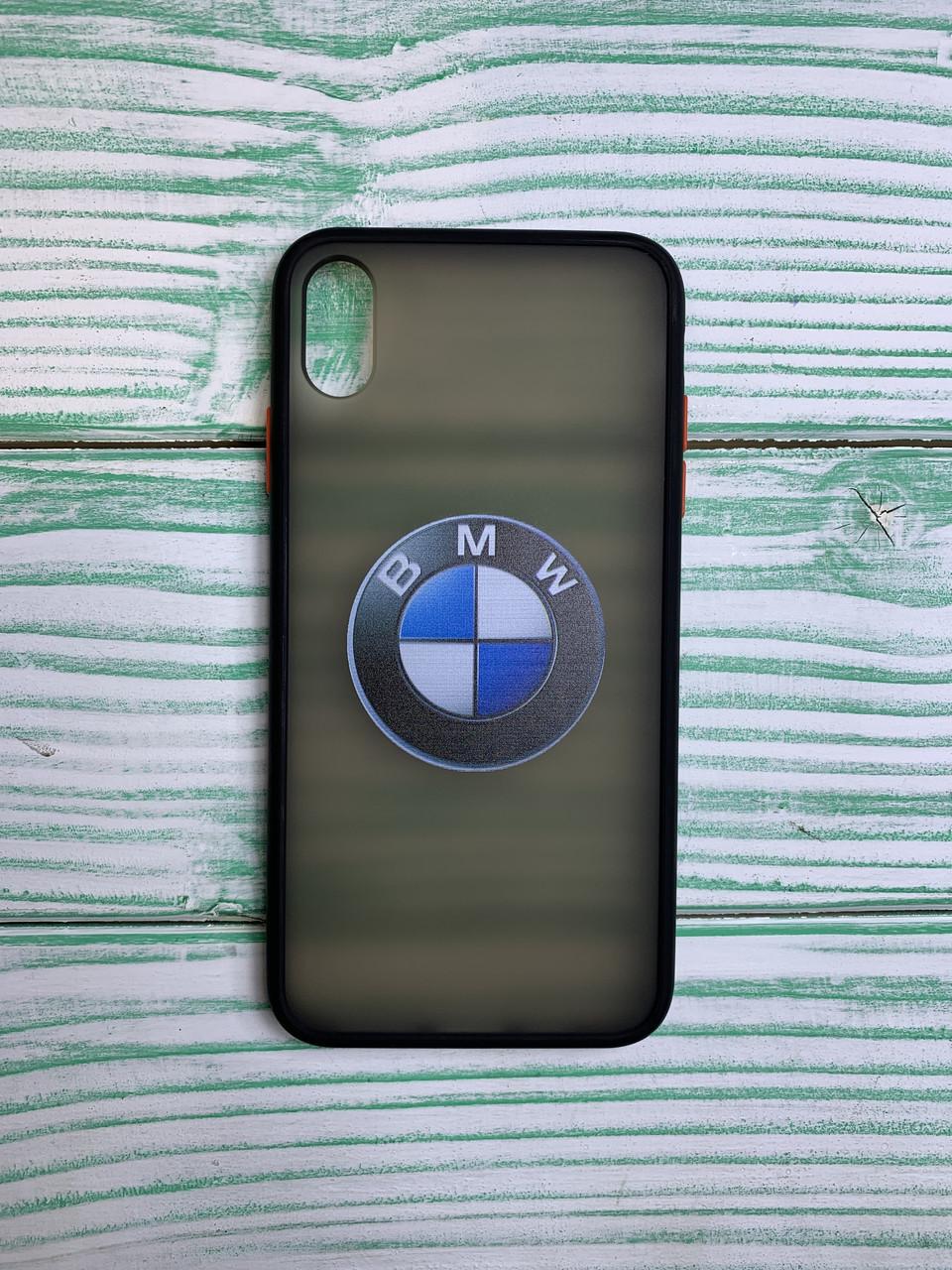 Чехол с лого BMW Porche VW Audi для всех моделей Huawei