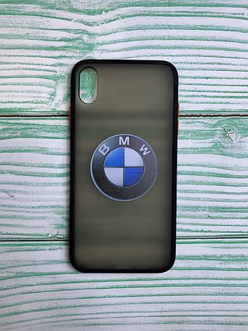 Чехол с лого BMW Porche VW Audi для всех моделей Huawei, фото 2