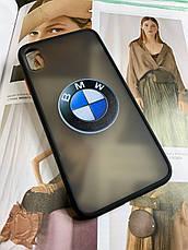 Чехол с лого BMW Porche VW Audi для всех моделей iPhone, фото 3
