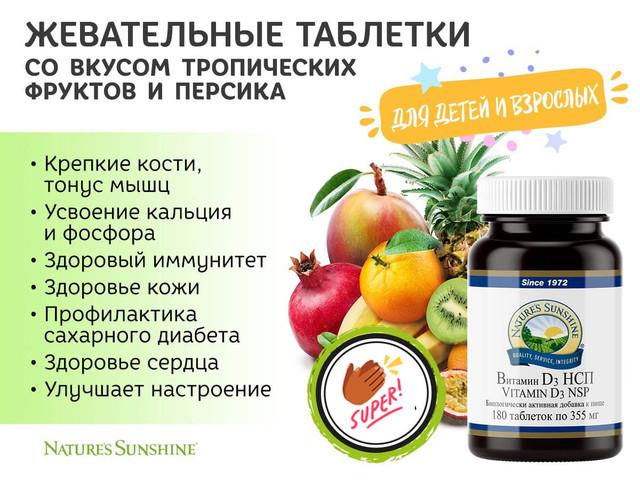 Витамин D3. Картинка 1.1