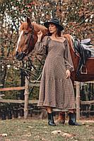 Платье из хлопкового трикотажа размера от 42 до 54