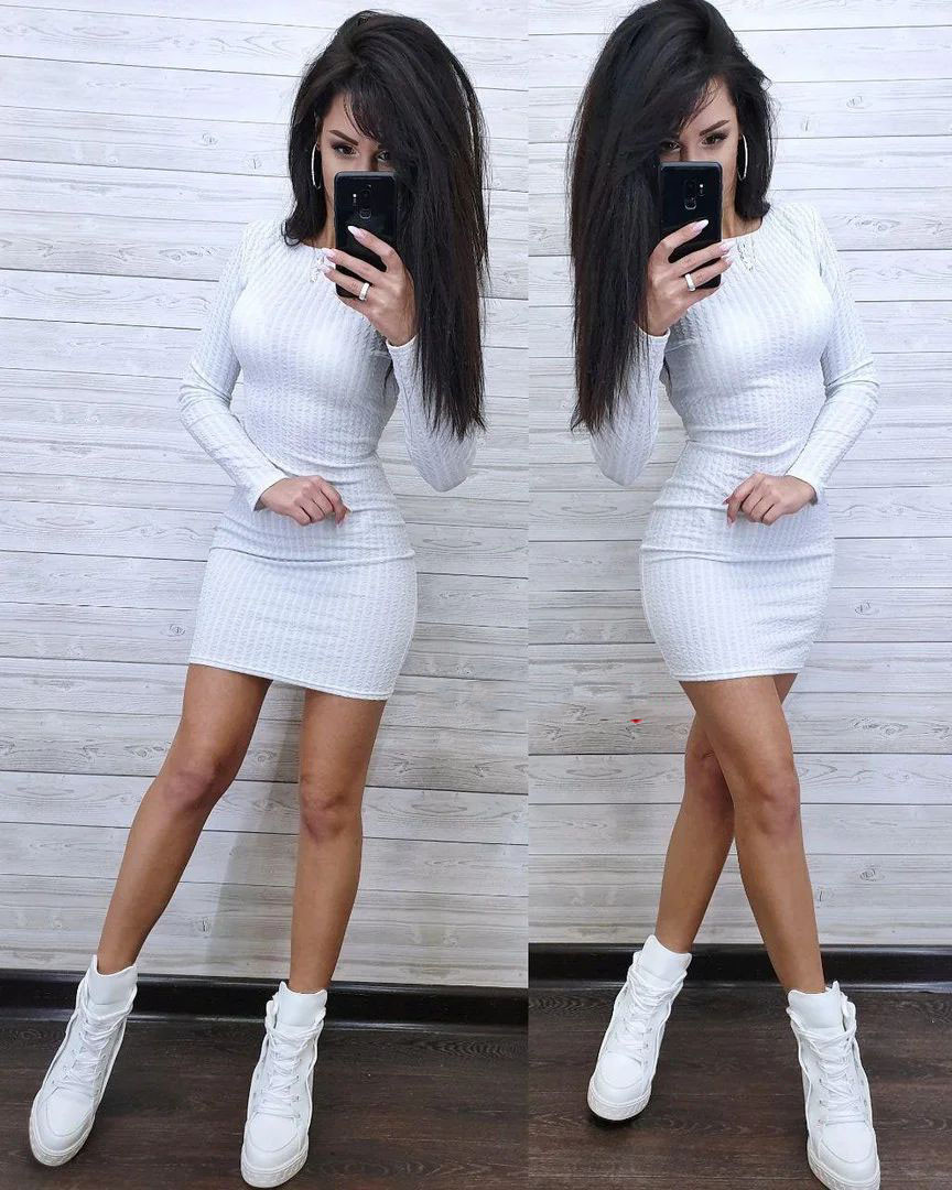 Платье короткое обтягивающее в полоску с люрексом трикотаж