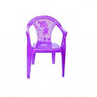 Детское кресло Полимерагро Пурпурный