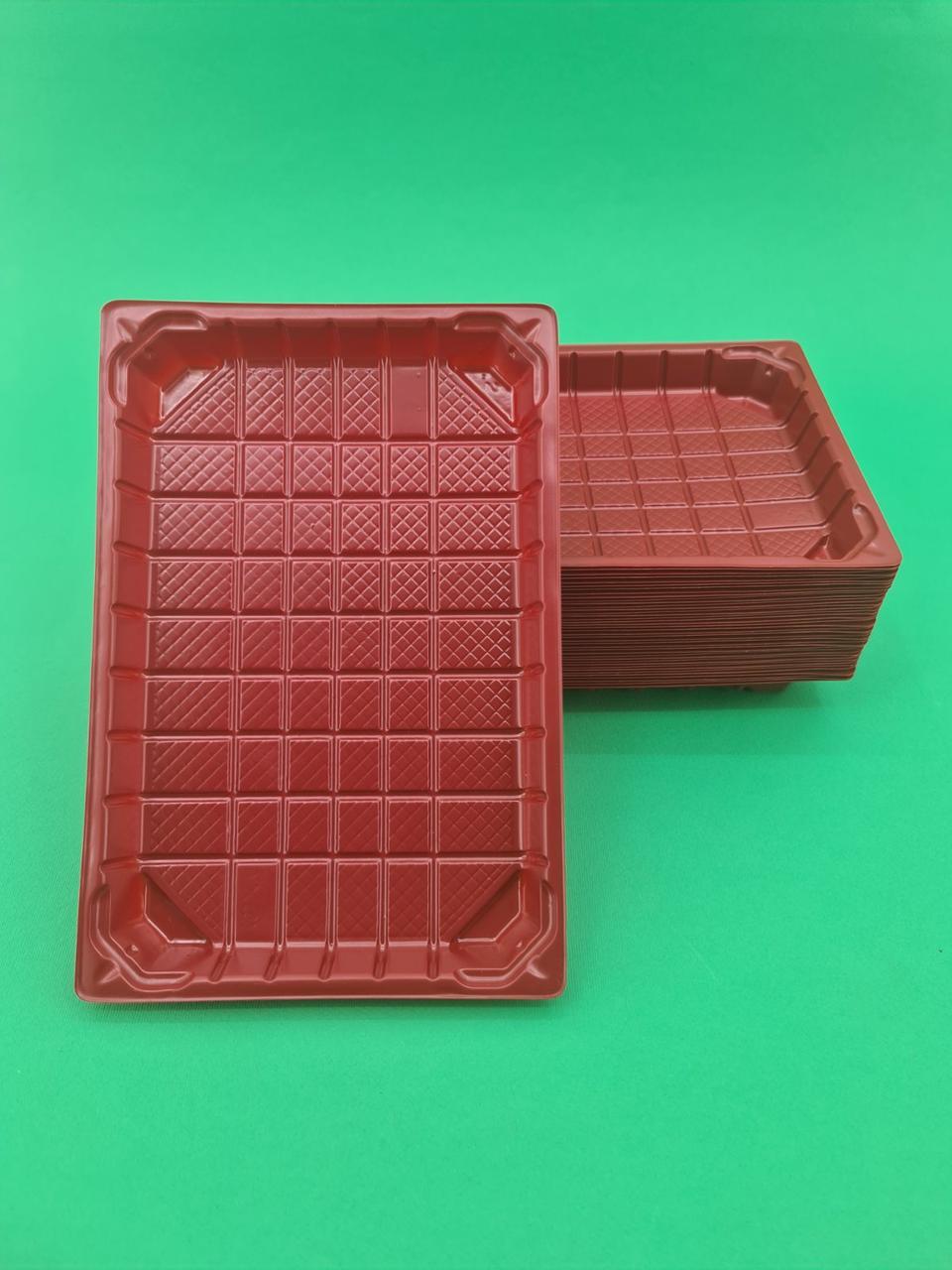 Упаковка для суши ПС-64 Красная +ПС64К  (1 шт)
