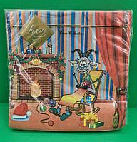 Святкова Серветка з дитячим малюнком Luxy Коза