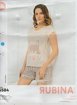 """Жіночі піжами,комплекти(шортики з футболкою)""""RUBINA Pink Secret"""" Туреччина"""