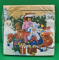 Салфетка  бумажная сервировочная Luxy  Праздник приближается , фото 1
