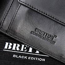 Кожаный кошелек мужской стильный Bretton M3602, фото 2