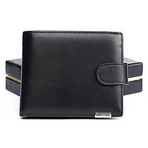Кожаный кошелек мужской стильный Bretton M3602, фото 3