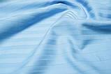 Постельное белье Сатин-страйп 1*1 Голубой, фото 2