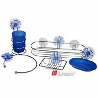 Набор аксессуаров для ванной комнаты (хромированная сталь) Besser 0529