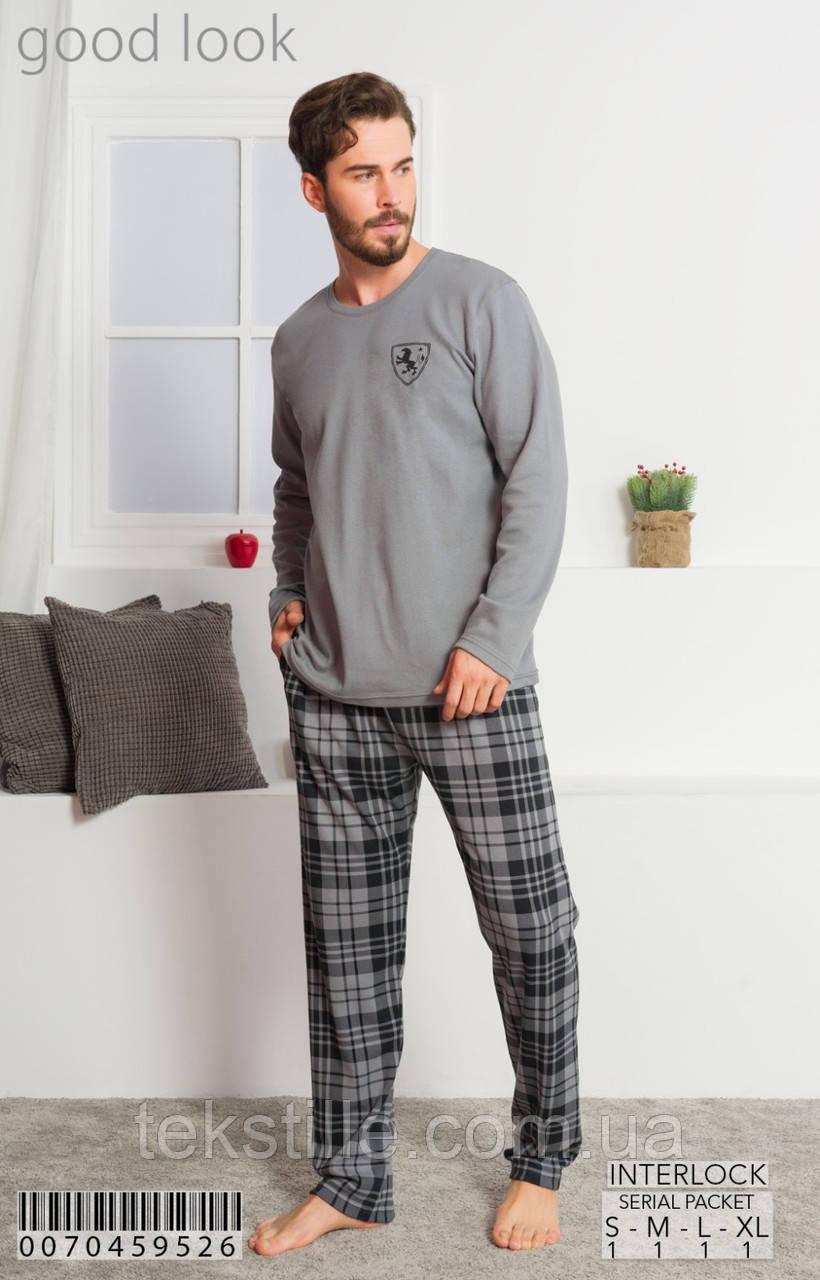 Пижама мужская трикотаж good look L