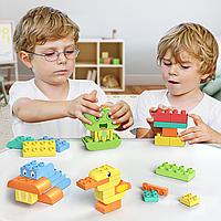 Развивающий конструктор Tumama TM304 животные, совместим с LEGO Duplo 150 деталей