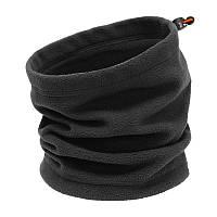 Баф флісовий (шарф труба) THERMAL - Black