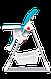 Стульчик для кормления Lionelo LINN PLUS  TURQUOISE, фото 3