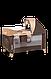 Кроватка-манеж Lionelo SVEN PLUS  BEIGE STRIPES, фото 3