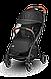 Прогулочная коляска Lionelo JULIE ONE BLACK, фото 5