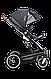 Универсальная коляска 2 в 1 Lionelo MARI GRAPHITE, фото 7