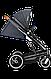 Универсальная коляска 2 в 1 Lionelo MARI GRAPHITE, фото 8