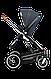 Универсальная коляска 2 в 1 Lionelo MARI GRAPHITE, фото 9
