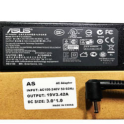 Блок питания для ноутбука ASUS Зарядка 19v 3.42a 65W штекер 3.0*1.0