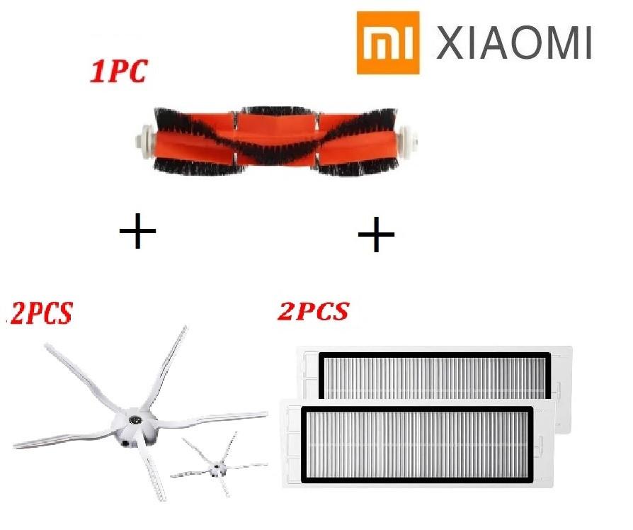 Комплект для робота-пылесоса Xiaomi Mijia / RoboRock S50 S51 S55 S5 Max S6 E4 E20  C10 Xiaowa