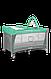 Кроватка-манеж Lionelo FLOWER TURQUOISE, фото 3