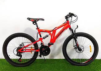 Горный велосипед Azimut Blackmount 26 GD красный