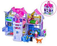 Домик  для кукол PL519-0801  раскладной, с фигурками, с мебелью, фото 1