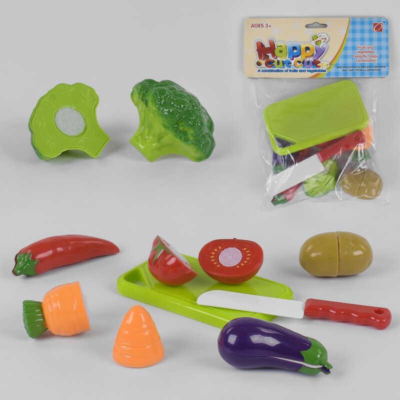 Набор овощей 666-18 (240/2) овощи на липучках, в кульке