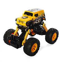 Инерционная машинка Джип KLX500-429 (Желтый)