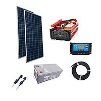 1,2кВт комплект автономной солнечной электростанции для дома мощность фотомодулей Suntech 580Вт