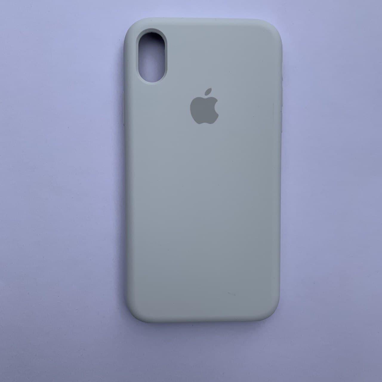 Чехол Silicone Case для Apple iPhone XR White