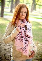 Шарф Арлет 180*60 см розовый