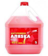 Антифриз Аляsка G12 красный (5л)