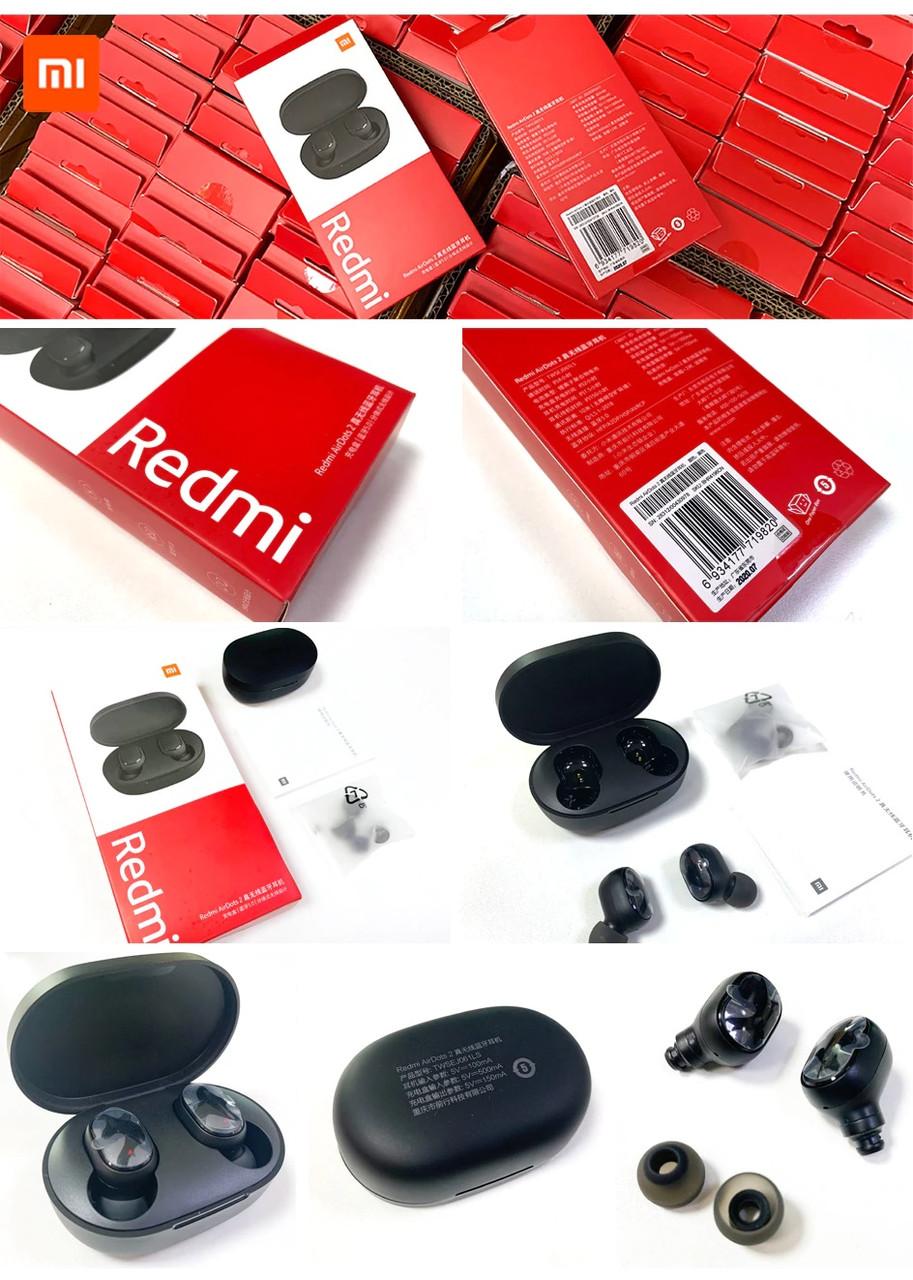 Наушники беспроводные Blutoothe Xiaomi Redmi Airdots 2 Black