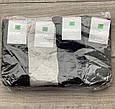 Чоловічі шкарпетки стрейчеві носки Montebello високі однотонні 41-44 12 шт в уп мікс кольорів, фото 3